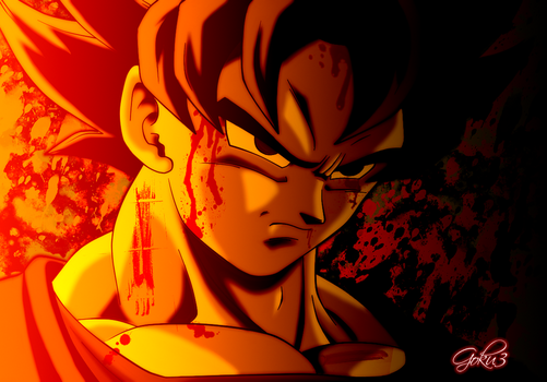 Goku Final Battle by goku003