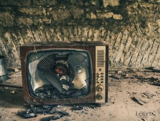 Old Television by LexartPhotos