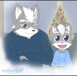 Christmas Snow by BlackWingedHeart87