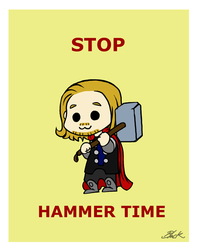 Thor - Stop Hammer Time by caycowa
