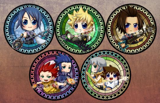 KH BBS Badges by mandachan
