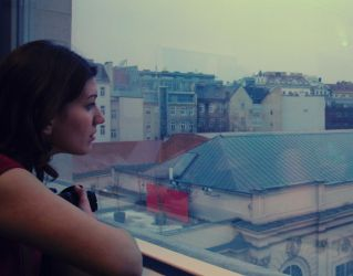 The view from Leopold Museum by p0lar0ida
