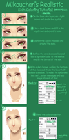SAI Semi-Realistic Skin Coloring Tutorial Part 3 by Mikouchan