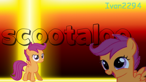 Scootaloo Signature by Ivan2294