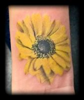 Sunflower by state-of-art-tattoo