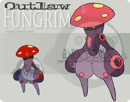 Outlaw Pokemon - Fungrim by Prinny-Dood