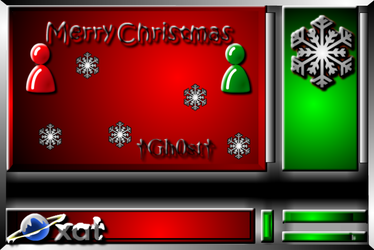Christmas Chat Background by MikeDarko