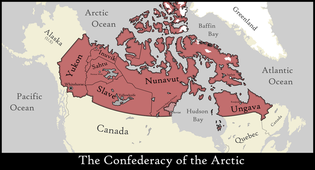 The Confederation of Arctic Nations by xlander684