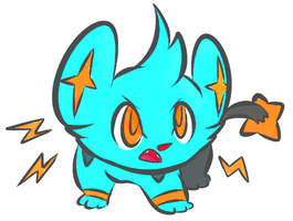 Shinx by gobixhoukou
