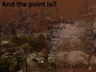 war whats the point by dcrad