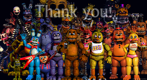 The end of fnaf by TheFloweyfanclub