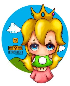 Princesa Peach by DollDigitalDesign