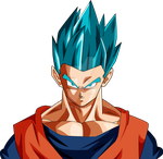 Gohan Survival arc SSJ Blue palette 1 by AL3X796