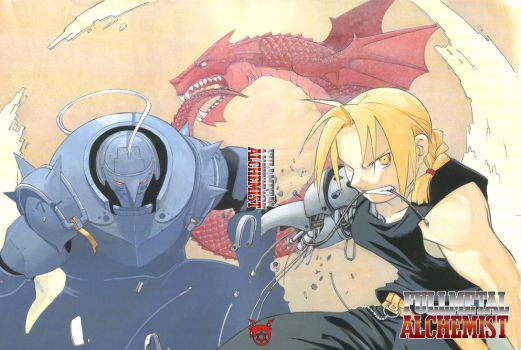 FMA - The brothers Elric 02 by TimeOcean