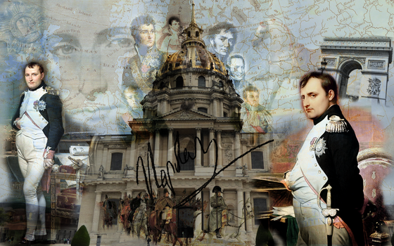 Napoleon Wallpaper by wales48