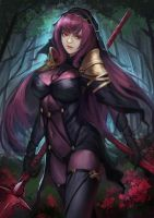 Fate/Grand Order - Scathach by phamoz