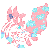 Sylveon Based Faekli Auction! (CLOSED) by SparklyMage