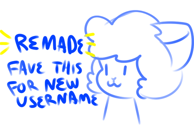 fave this for new username by cranberryz