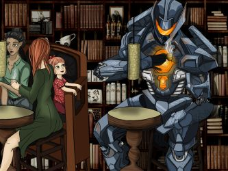 Blending in, Pacific rim art contest submission by Yeze