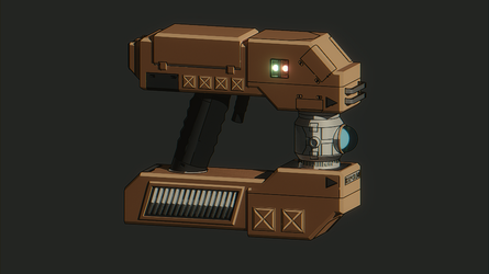 Matter Manipulator from starbound. by Toastercase