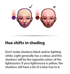 Little Lessons - 4 Hueshifts in Shading by Fawngoo