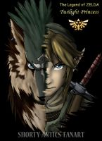 Link and Link Wolf by shorty-antics-fanart