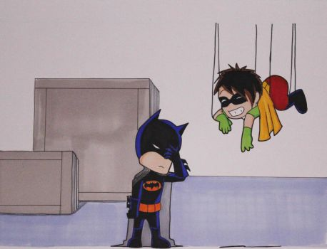 Batman and Robin Day One by StephanieNicole1002