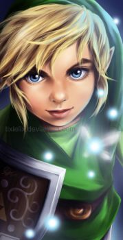 Boy Link by TixieLix