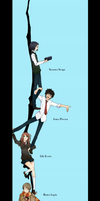 Marauders Character Strip by flamearcher909