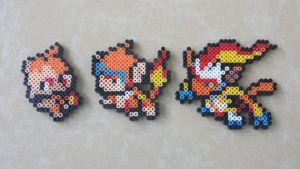 Chimchar Family - PB Sprite Set