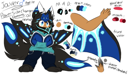 Javier the Edsketchian! (MYO)(ref) by Perma-Fox
