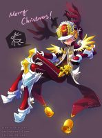 DragonNest: Xmas Costume of Cleric-Red by ZiyoLing