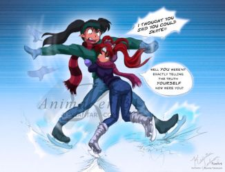 Ice Skating Date Fail by Animaker131