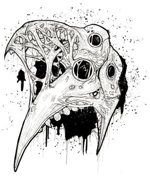 Plague Faces by ayillustrations