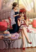 Grell and I by SweetLittleVampire