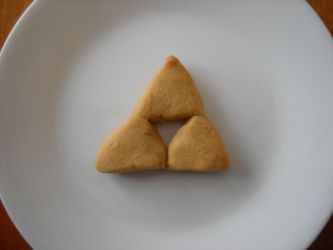 This Triforce cookie. by Antervantei