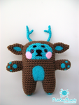 Forest Spirit Animal Totem Amigurumi Plush by RainbowReverie