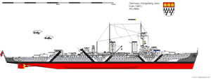 Light Cruiser Koeln (1941) by DG-Alpha