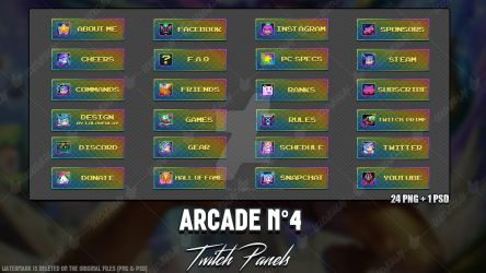 Arcade - Twitch Panels #4 by LoL-Overlay