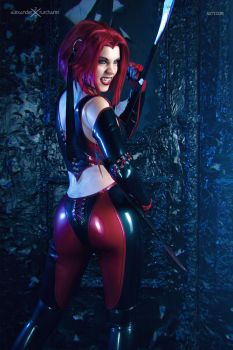 Bloodrayne cosplay ~ You Better Run by magmasaya