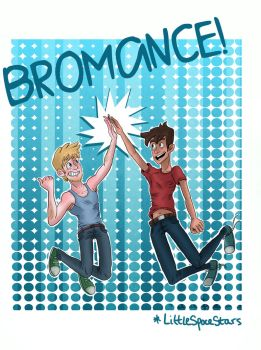 BROMANCE - Finn and Gage by LittleSpaceStars
