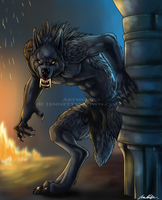 Van Helsing Werewolf by sugarpoultry