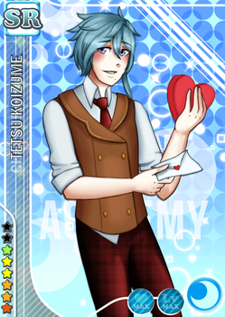 KA Valentine's Event SR Tetsu by uncommonster