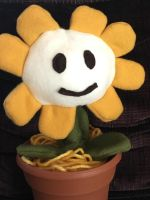Flowey Plush by Friendlyfoxpal
