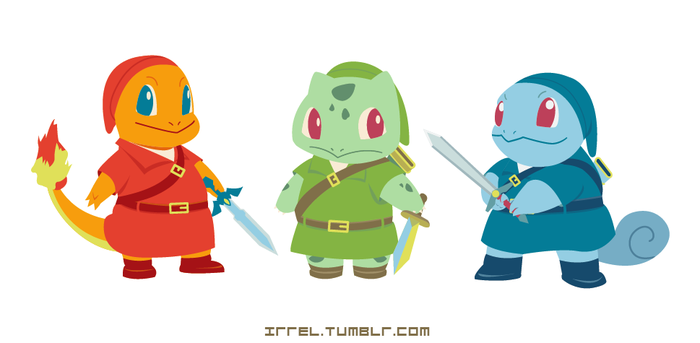 The Legend of Pokemon by Irrel
