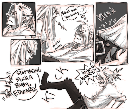 FMA Omake: It's Been a While ch2 p16 by roolph
