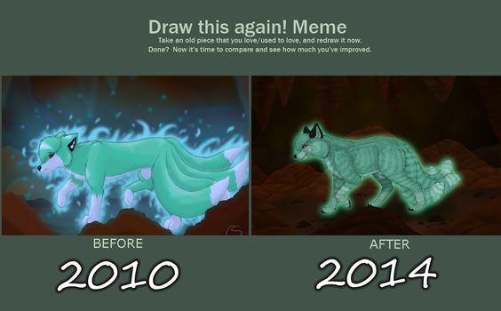 Draw This Again Meme by Cynlife