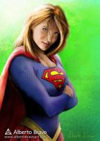 Supergirl by AlbertoBravo