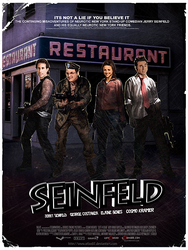 Seinfeld Poster by Atlas07