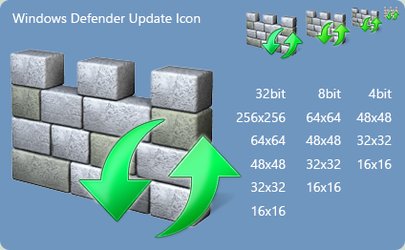 Windows Defender Update Icon for Windows 8 by ronz